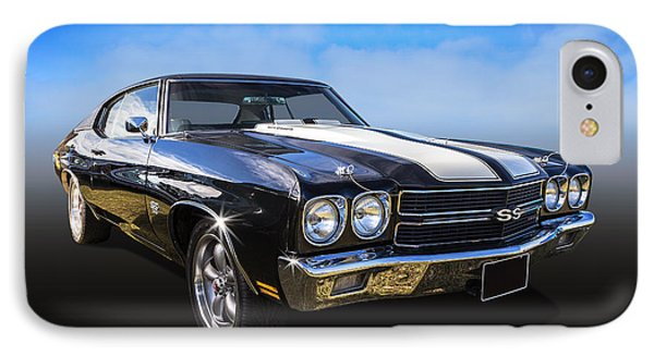 Chevy Muscle IPhone Case by Keith Hawley