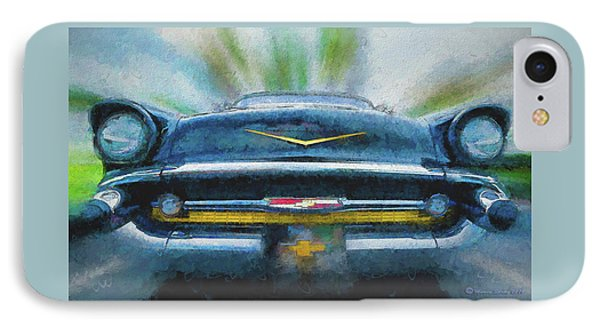 Chevy Power IPhone Case by Marvin Spates