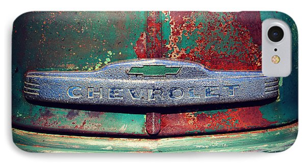 Chevy Rust IPhone Case by Perry Webster