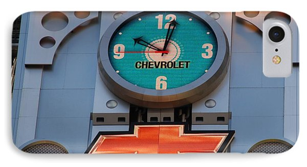 Chevy Times Square Clock Phone Case by Rob Hans