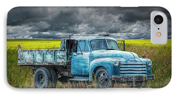 Chevy Truck Stranded By The Side Of The Road IPhone Case