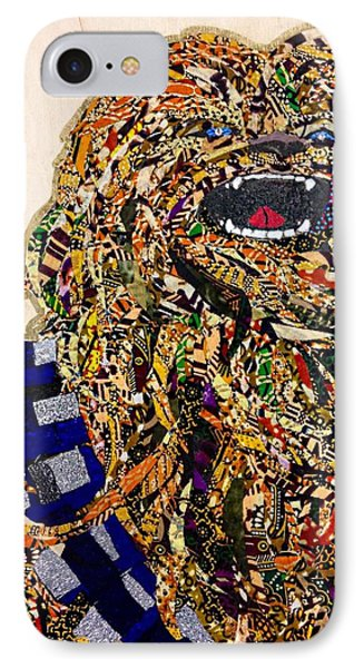 IPhone Case featuring the tapestry - textile Chewbacca Star Wars Awakens Afrofuturist Collection by Apanaki Temitayo M