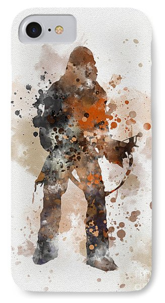 Chewie Phone Case by Rebecca Jenkins