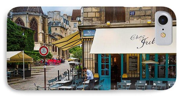 Chez Julien Phone Case by Inge Johnsson