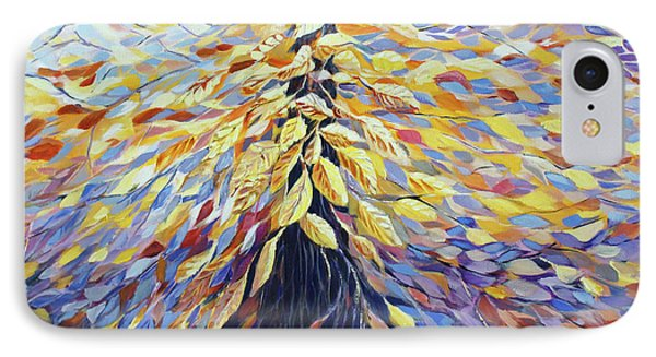 IPhone Case featuring the painting Chi Of The Mighty Tree by Joanne Smoley