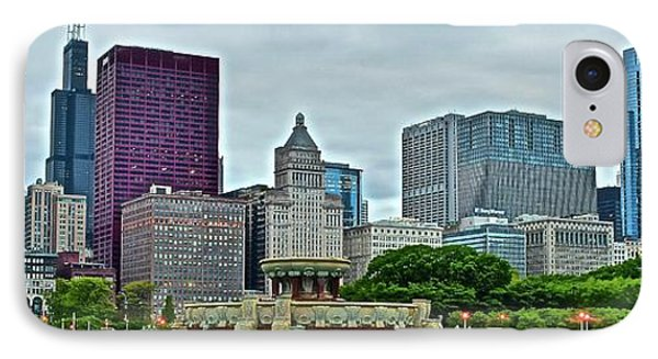 Chi Town Pano IPhone Case