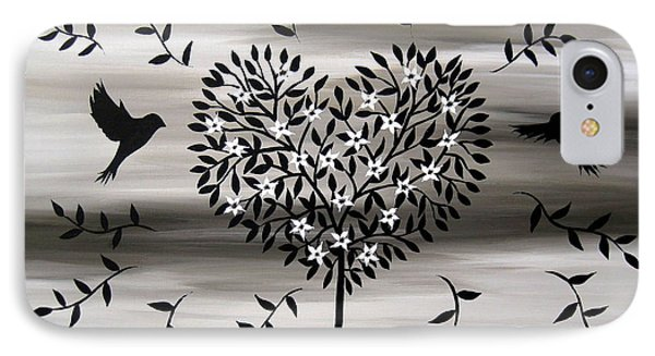 Chic Tree 2 IPhone Case by Cathy Jacobs