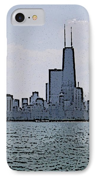 Chicago Across Lake Michigan IPhone Case