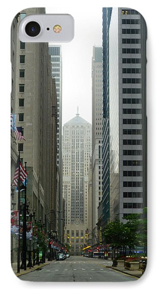 Chicago Architecture - 17 Phone Case by Ely Arsha