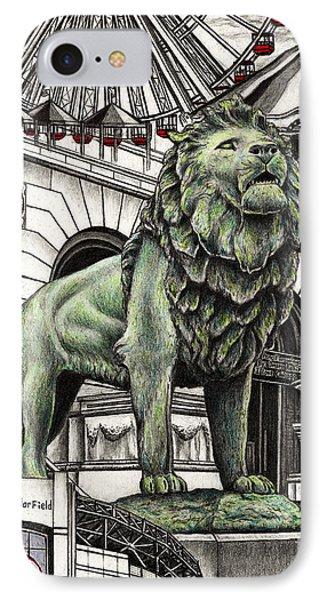 Chicago Art Institute Lion IPhone Case