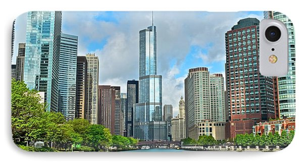 Chicago At Sunrise IPhone Case by Frozen in Time Fine Art Photography
