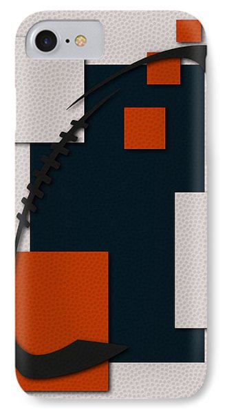 Chicago Bears Football Art IPhone Case by Joe Hamilton