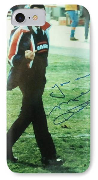 Mike Ditka Chicago Bears Head Coach IPhone Case by Donna Wilson