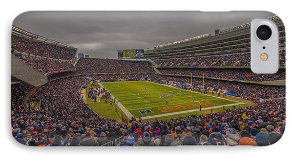 Chicago Bears Soldier Field 7837 IPhone Case