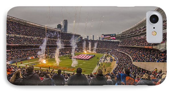 Chicago Bears Soldier Field National Anthem 7745 IPhone Case