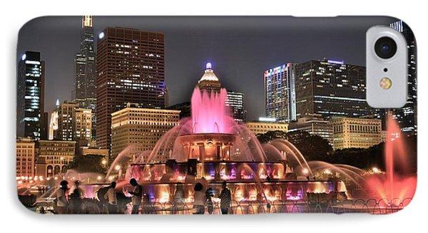 Chicago Buckingham Alight IPhone Case