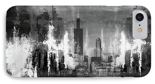 Chicago Buildings IPhone Case by Gull G