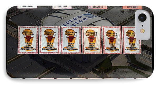 Chicago Bulls Banners Collage IPhone Case