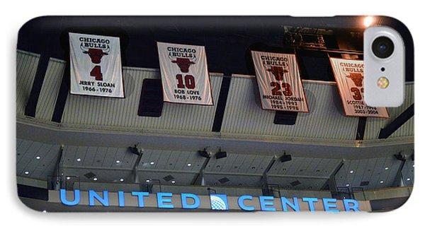 Chicago Bulls Retired 4 10 23 33 IPhone Case