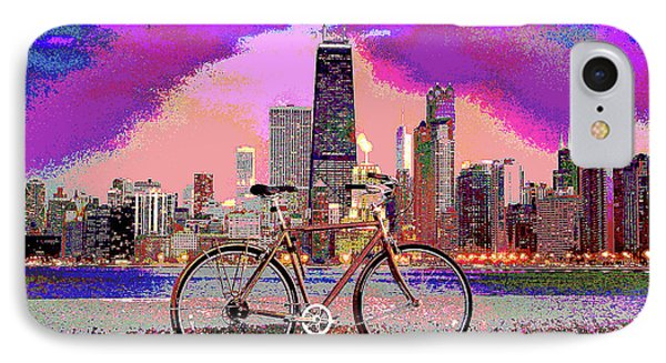 Chicago  IPhone Case by Charles Shoup