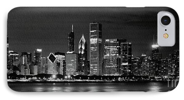 Chicago City 88u IPhone Case by Gull G
