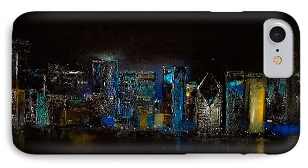 Chicago City Scene IPhone Case
