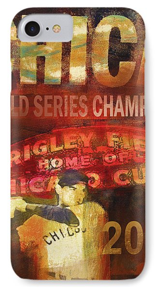 Chicago Cubs - 2016 World Series Champions IPhone Case