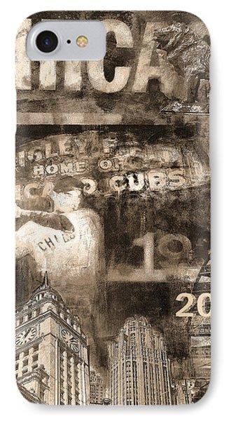 Chicago Cubs - 2016 World Series IPhone Case by Joseph Catanzaro