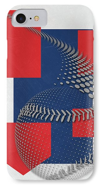 Chicago Cubs Art IPhone Case by Joe Hamilton