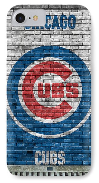 Chicago Cubs Brick Wall IPhone 7 Case