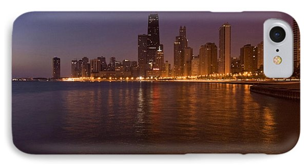 Chicago Dawn Phone Case by Sven Brogren