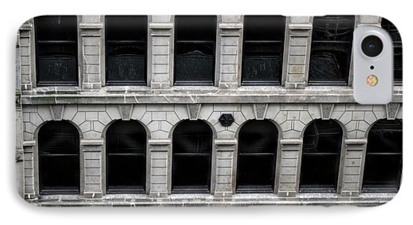 Chicago Downtown Arched Windows IPhone Case by Thomas Woolworth