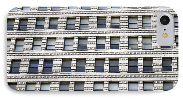 Chicago Downtown Window Facade IPhone Case by Thomas Woolworth