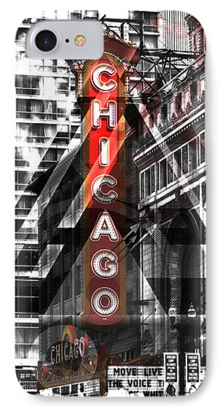 Chicago Geometric Mix No. 2 IPhone Case by Melanie Viola
