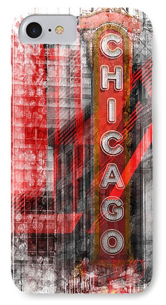 Chicago Geometric Mix No. 4 IPhone Case by Melanie Viola