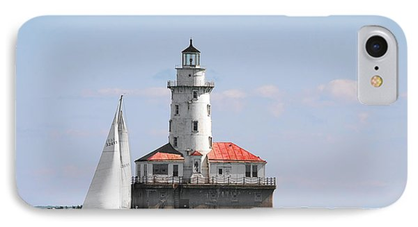 Chicago Harbor Lighthouse IPhone Case