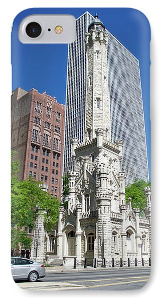 Chicago Historic Water Tower IPhone Case by Thomas Woolworth