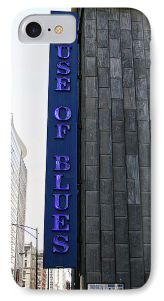 Chicago House Of Blues Signage IPhone Case by Thomas Woolworth
