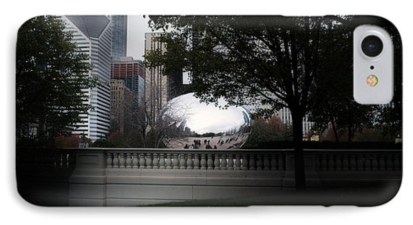 Chicago In November At The Bean IPhone Case by Thomas Woolworth