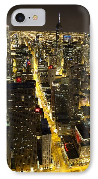 IPhone Case featuring the photograph Chicago Is Always Alive by Shawn Everhart