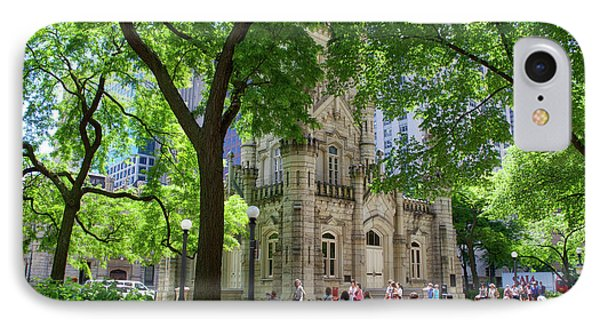 Chicago Jane Byrne Park In June IPhone Case by Thomas Woolworth