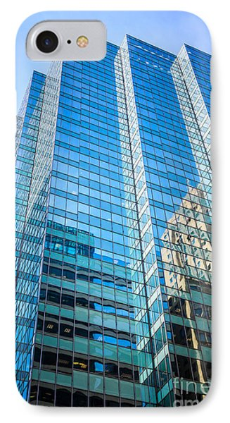 Chicago Modern Glass Office Building Architecture IPhone Case by Paul Velgos