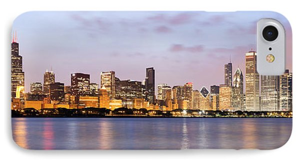 Chicago Panorama Phone Case by Paul Velgos