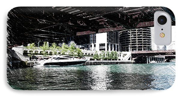 Chicago Parked On The River In June 03 Pa 01 IPhone Case by Thomas Woolworth