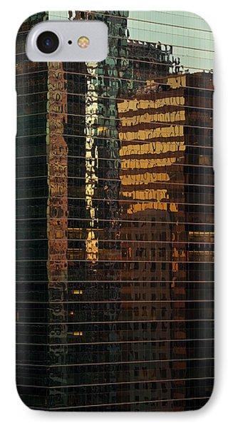 Chicago Reflected Phone Case by Steve Gadomski