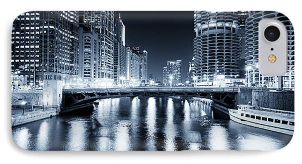 Chicago River At State Street Bridge IPhone Case