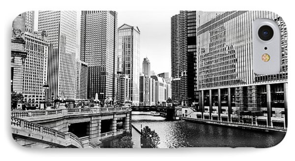 Chicago River Buildings Architecture IPhone Case by Paul Velgos