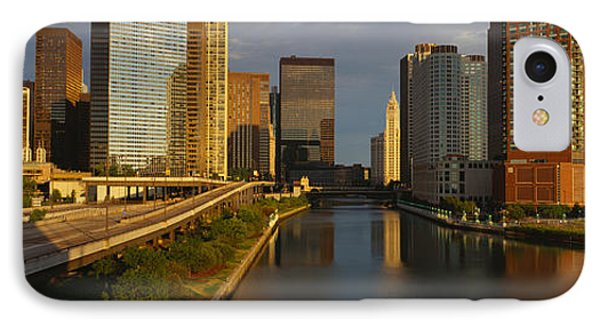 Chicago River From Lake Shore Drive IPhone Case by Panoramic Images