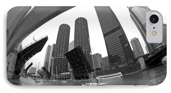 Chicago Sailboats Heading To Harbor Phone Case by Sven Brogren
