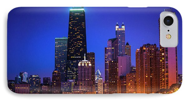 Chicago Shoreline Skyscrapers IPhone Case
